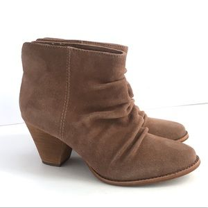 Anthropologie Splendid Rodeo Booties Suede Boots